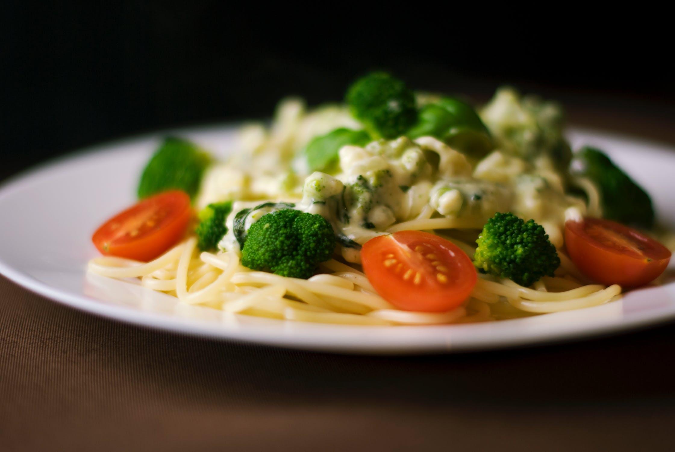 spagete s povrcem